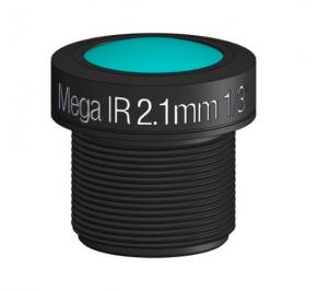 """M12, 1/3"""", 2.1mm, F2.3, 5MP, no IR filter"""