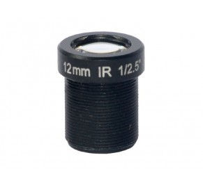 "M12, 1/2.5"", 12mm, F2.0, 3MP, 650nm IR filter"