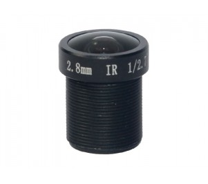 "M12, 1/2.7"", 2.8mm, F2.3, 3MP, 650nm IR filter"