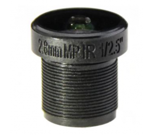 "M12, 1/2.7"", 2.1mm, F1.8, 5MP, 650 IR filter"